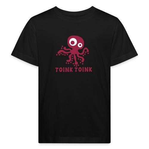 logo toink toinkgr2kl - Kinderen Bio-T-shirt