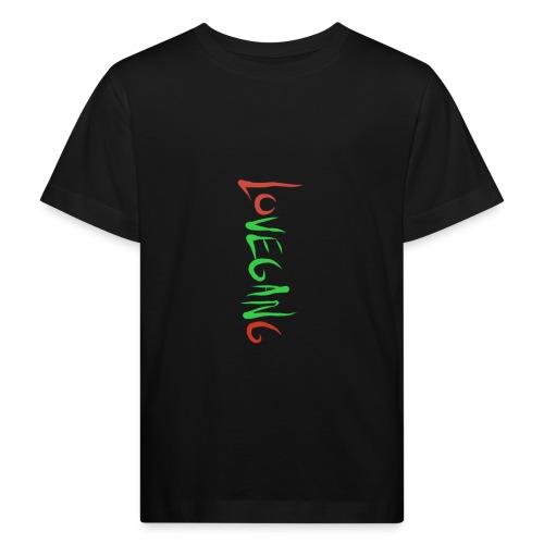 Lovegang - Lasten luonnonmukainen t-paita