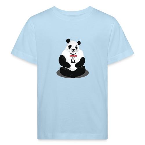 panda hd - T-shirt bio Enfant