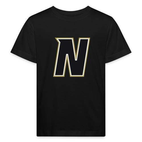 Nordic Steel Black N - Kids' Organic T-Shirt