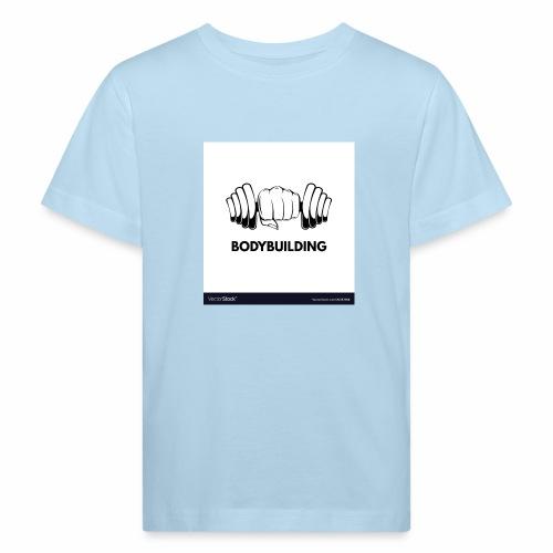 Bodybuilding, kropps byggare - Ekologisk T-shirt barn