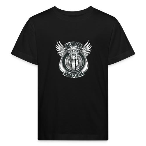 BORN TO RIDE - Camiseta ecológica niño