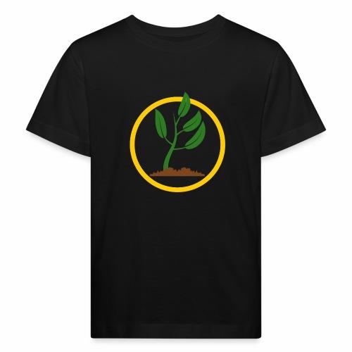 Setzlingemblem - Kinder Bio-T-Shirt