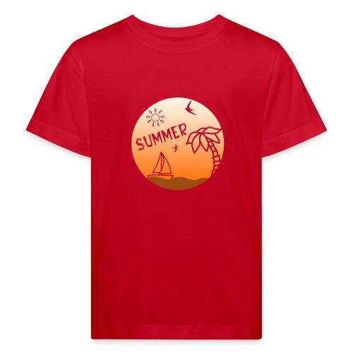 Summer - Lasten luonnonmukainen t-paita