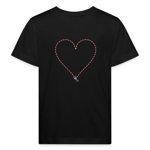Coeur à découper - T-shirt bio Enfant