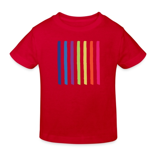 Linjer - Organic børne shirt