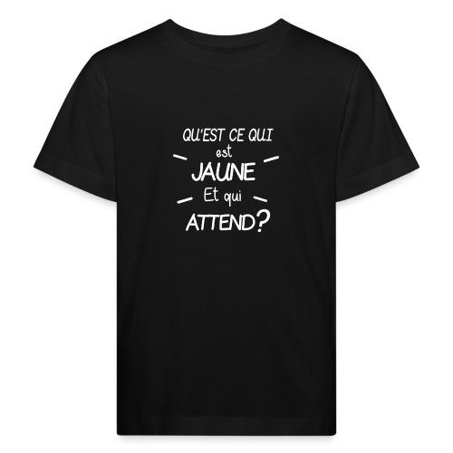 Edition Limitee Jonathan Black - T-shirt bio Enfant