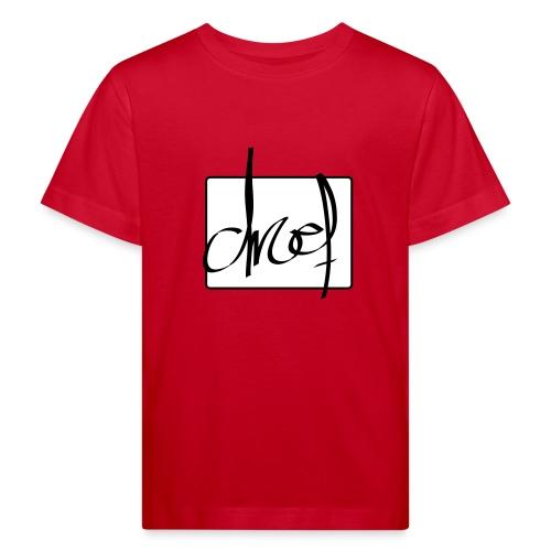 Droef.Gent logo zwart - Kinderen Bio-T-shirt