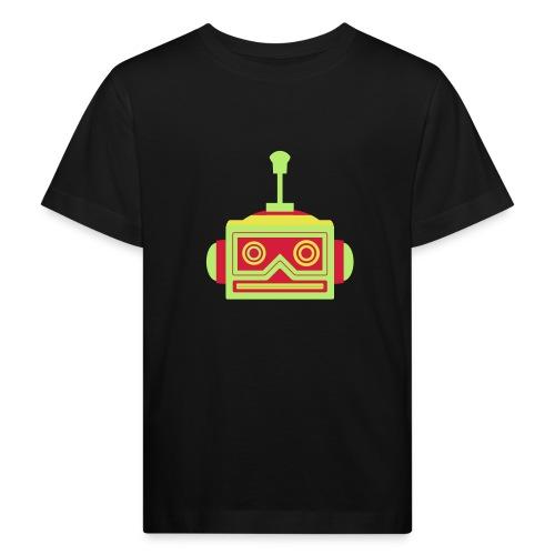 Robot head - Kids' Organic T-Shirt