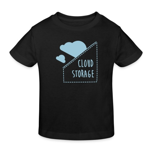Cloud Storage - Kinder Bio-T-Shirt