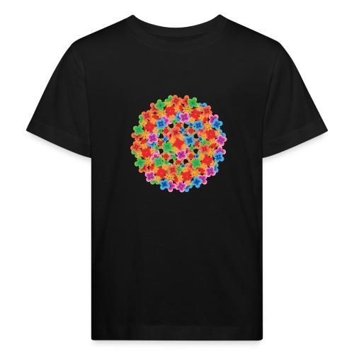 Flower mix - Organic børne shirt