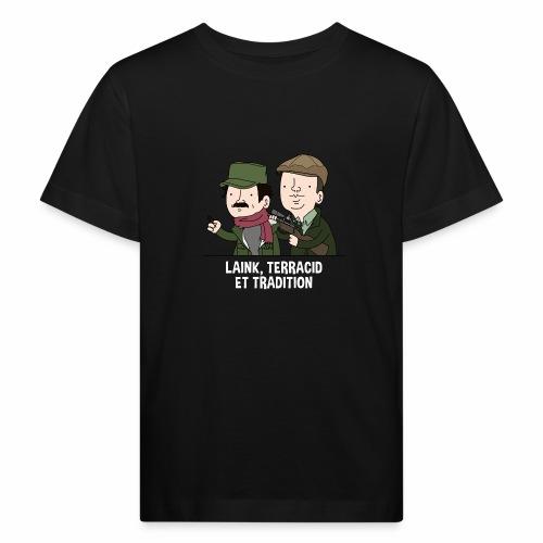 Laink, Terracid et Tradition - T-shirt bio Enfant