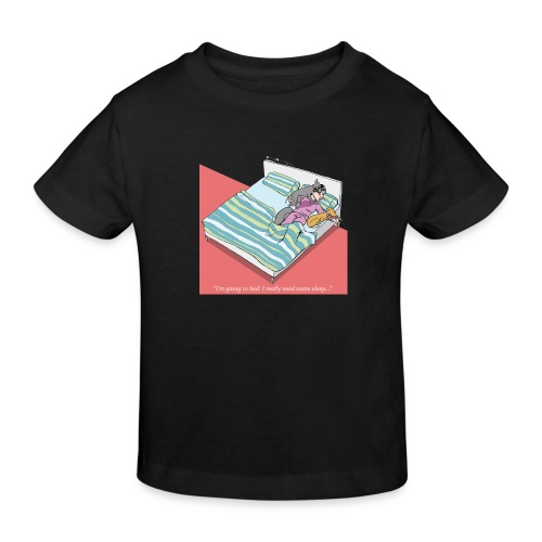pajama party - Kids' Organic T-Shirt