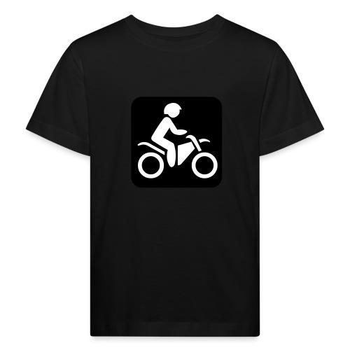 motorcycle - Lasten luonnonmukainen t-paita