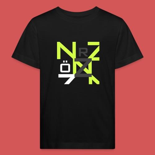 Nörthstat Group™ Clear Transparent Main Logo - Kids' Organic T-Shirt