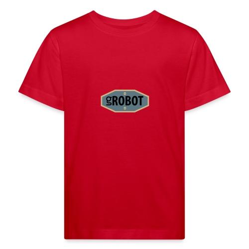 gRobot Logo - Maglietta ecologica per bambini