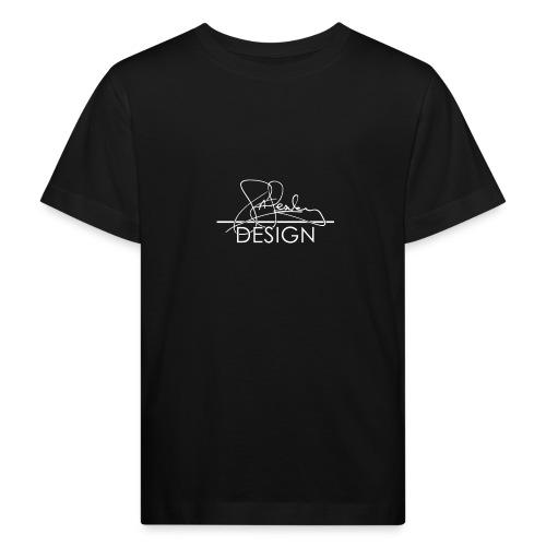 sasealey design logo wht png - Kids' Organic T-Shirt