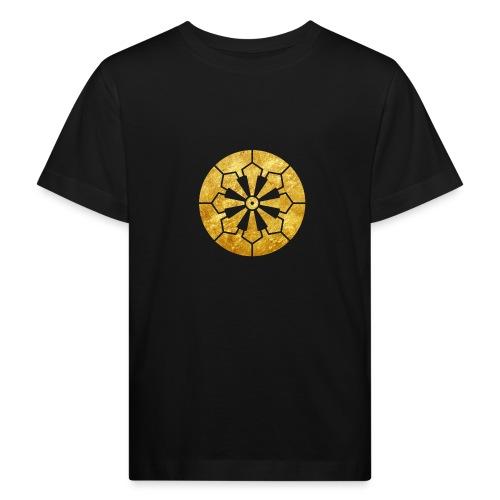 Sanja Matsuri Komagata mon gold - Kids' Organic T-Shirt