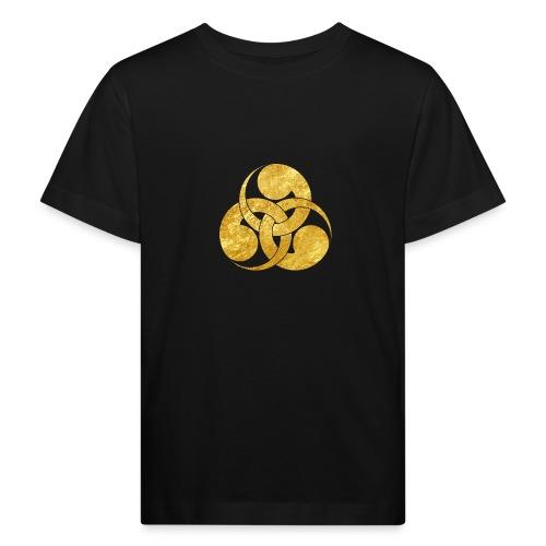 Tadpole Mon Japanese samurai clan - Kids' Organic T-Shirt
