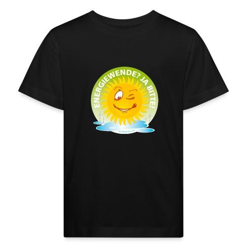 Energiewende Ja bitte - Kinder Bio-T-Shirt