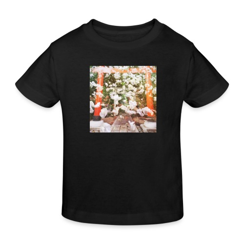 見ぬが花 Imagination is more beautiful than vi - Kids' Organic T-Shirt