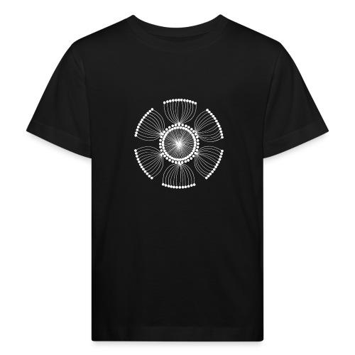 White Poppy Seed Mandala II - Kids' Organic T-Shirt
