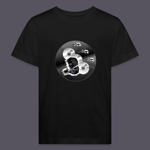 schwarze Schmuck CD - Kinder Bio-T-Shirt