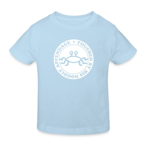 Touched by His Noodly Appendage - Kids' Organic T-Shirt