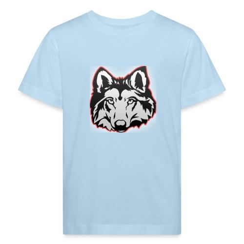Wolfie (Red) - Kids' Organic T-Shirt
