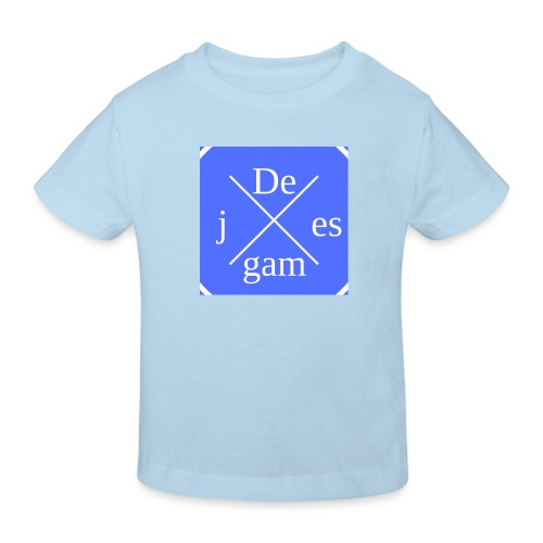 de j games kleren - Kinderen Bio-T-shirt
