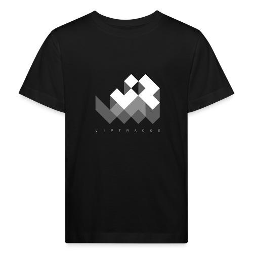 LOGO VIPTRACKS RELEASES - Kinderen Bio-T-shirt
