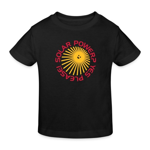 BD Solar Power - Kinder Bio-T-Shirt