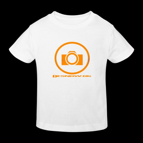 Orange 2 png - Organic børne shirt