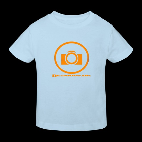 Orange 2 png - Organic børne shirt