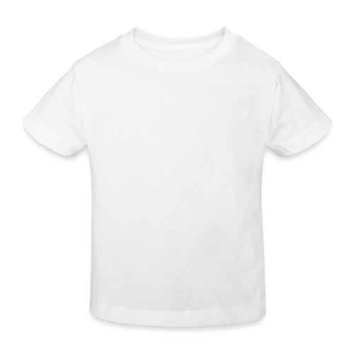 white logo transparent 2x - Kids' Organic T-Shirt