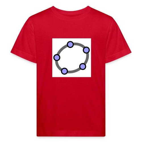 GeoGebra Ellipse - Kids' Organic T-Shirt