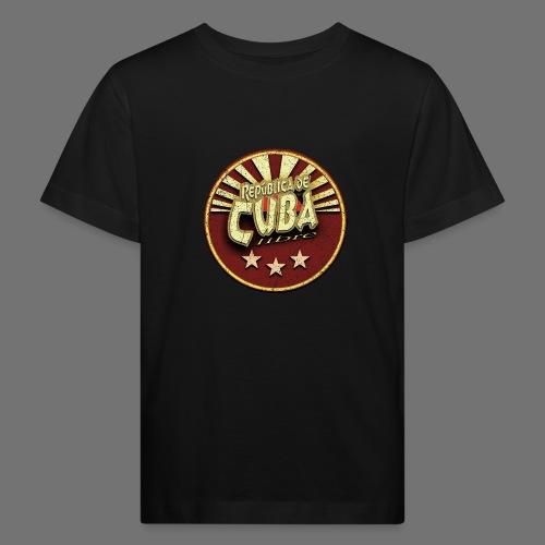 Republica De Cuba Libre (oldstyle) - Kinder Bio-T-Shirt
