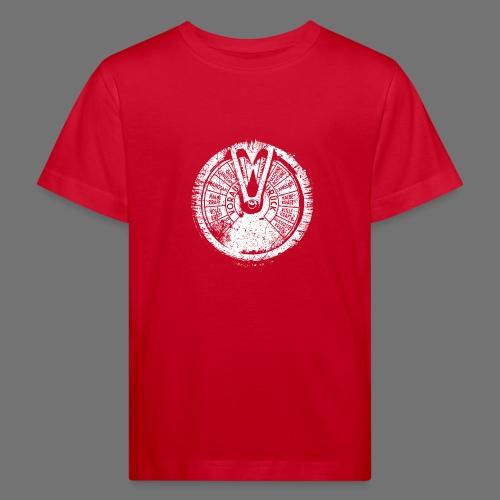 Maschinentelegraph (biały oldstyle) - Ekologiczna koszulka dziecięca