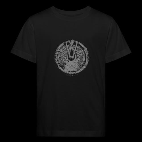 Maschinentelegraph (gray oldstyle) - Kids' Organic T-Shirt
