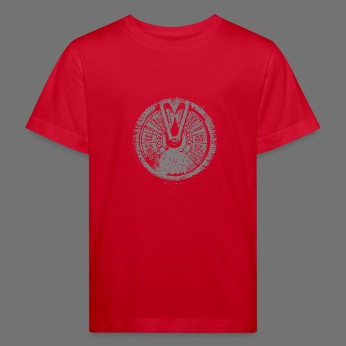 Maschinentelegraph (szary oldstyle) - Ekologiczna koszulka dziecięca