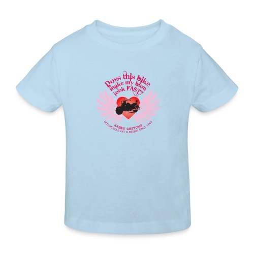 Kabes Fast Bum T-Shirt - Kids' Organic T-Shirt