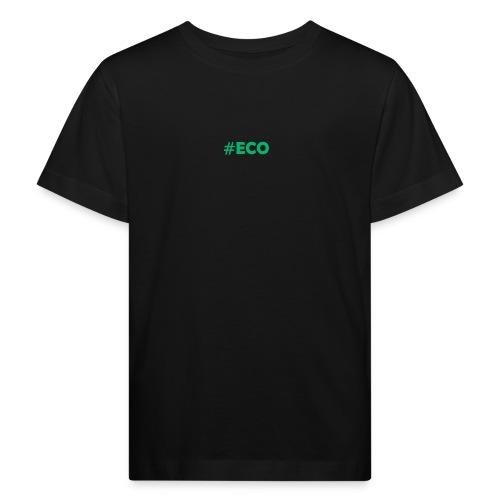 #ECO Blue-Green - Kinder Bio-T-Shirt