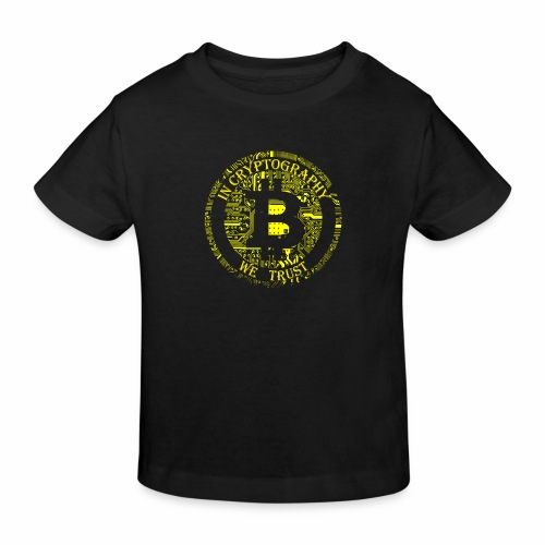 In cryptography we trust 2 - Kids' Organic T-Shirt
