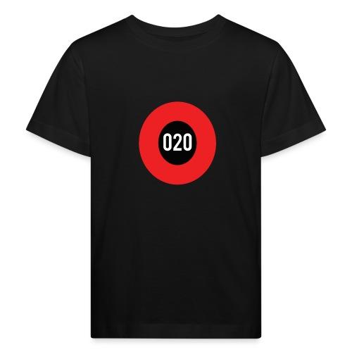 020 logo - Kinderen Bio-T-shirt
