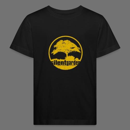 hiljainen puutarha (keltainen oldstyle) - Lasten luonnonmukainen t-paita