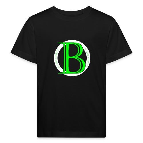 Wit Groen-logo - Kinderen Bio-T-shirt