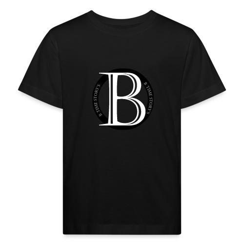 logo zwart - Kinderen Bio-T-shirt
