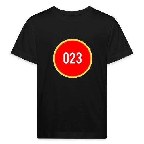 023 logo 2 - Kinderen Bio-T-shirt
