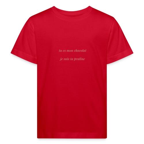 Tu es mon chocolat clair - T-shirt bio Enfant