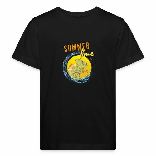 Chamäleon - Kinder Bio-T-Shirt